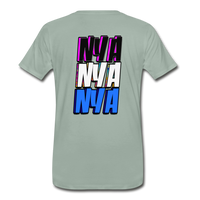 NYA Back Logo Tee - steel green