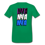 NYA Back Logo Tee - kelly green