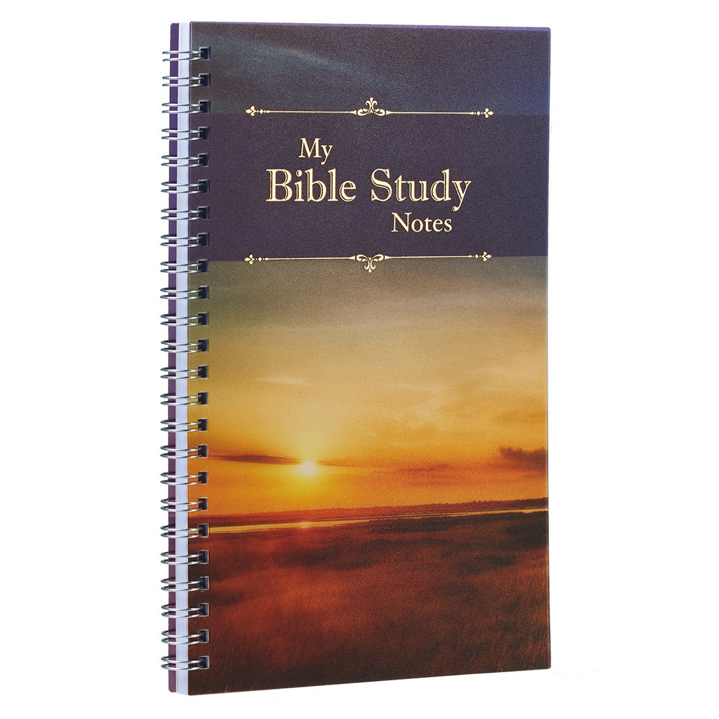 My Bible Study Notes Wirebound Notebook