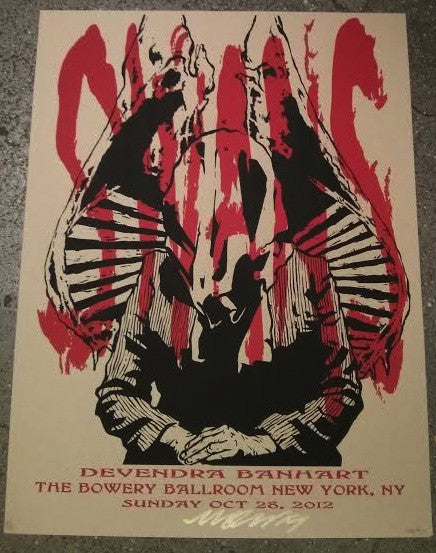 Swans - Devendra - NY Poster (Sold Out)