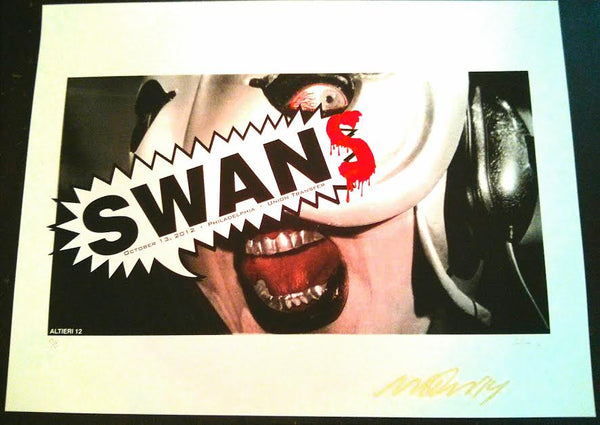 SWANS - PHILADELPHIA - POSTER (sold out)