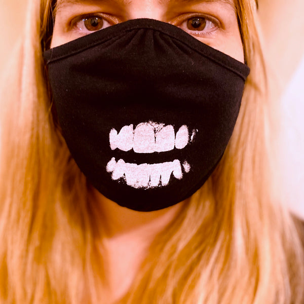 Teeth Mask Close Up