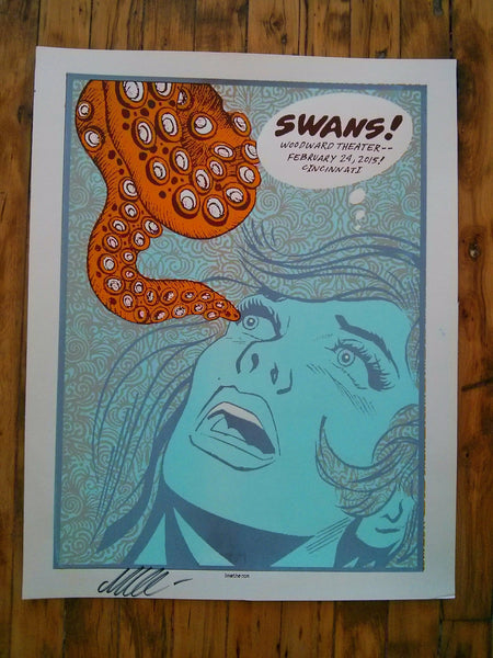 SWANS - Cincinnati Poster #2 (sold out)