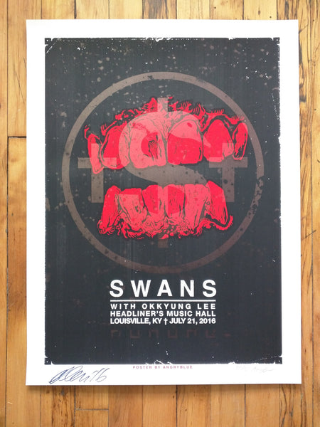Swans - Louisville, KY Poster (sold out)