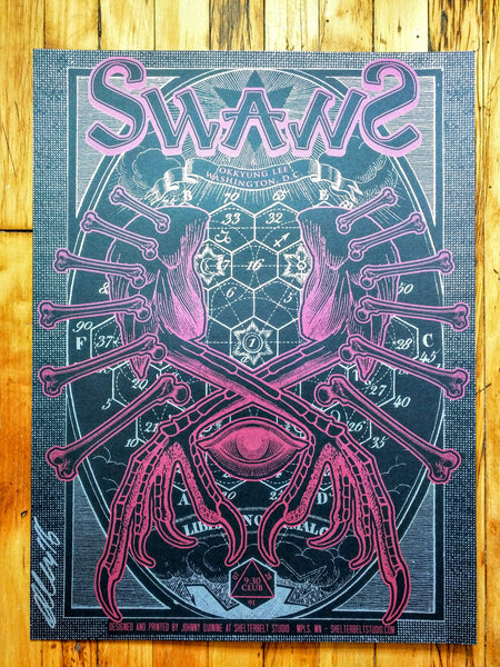 Swans - Washington DC Poster (sold out)