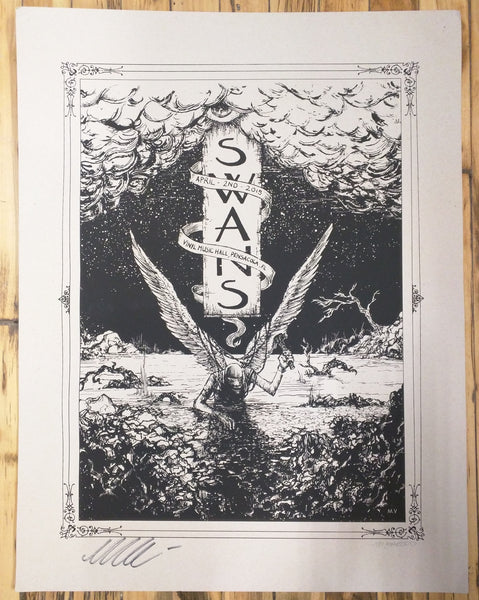 SWANS - Pensacola Poster (sold out)
