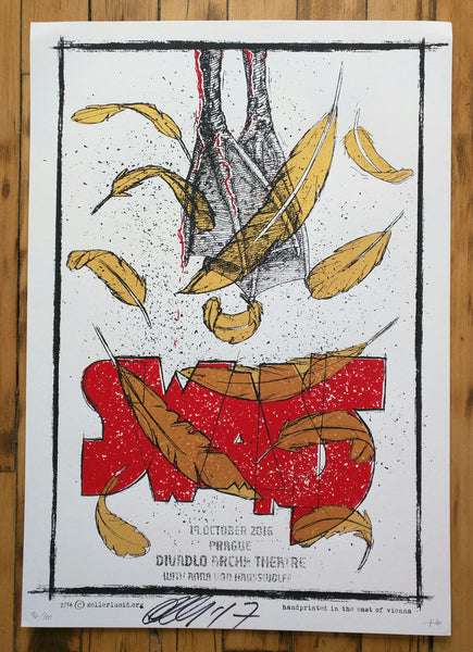 Swans Prague Poster (Sold Out)