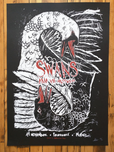 SWANS - Munich Poster (sold out)