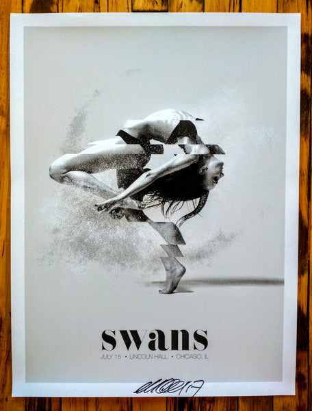SWANS - Chicago Poster (sold out)