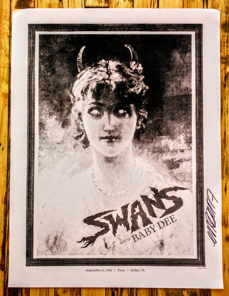 SWANS - Dallas Poster (sold out)