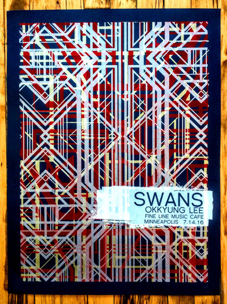 SWANS - Minneapolis Poster (sold out)