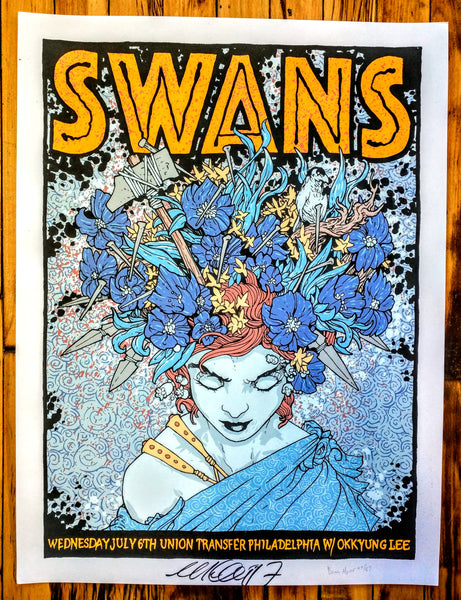Swans - Philly Poster (sold out)