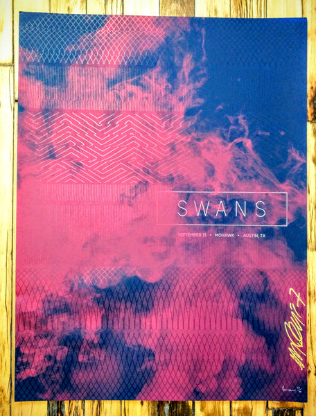 Swans - Austin Poster (sold out)