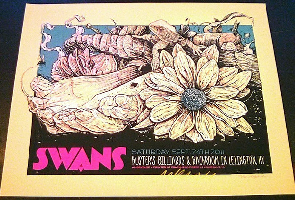 SWANS - Lexington Poster - Sold Out
