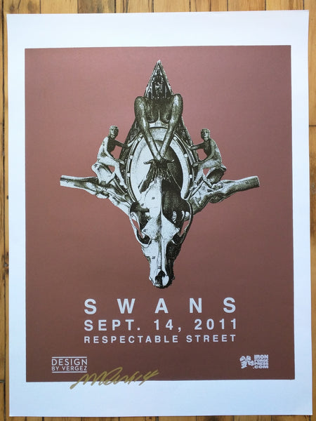 SWANS - Miami 2011 Poster (sold out)