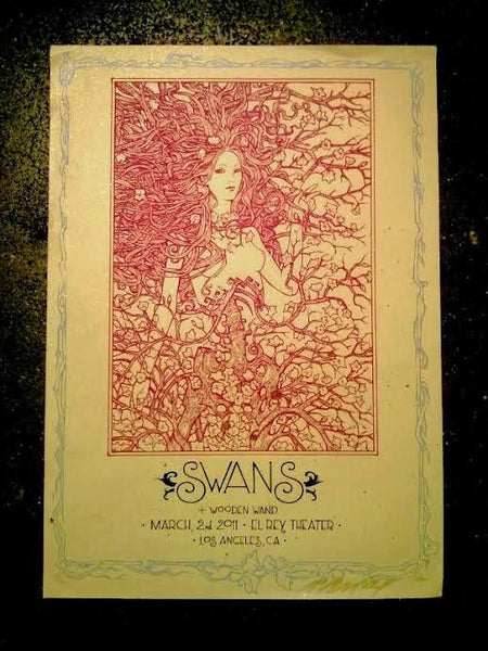 Swans Los Angeles Poster (Sold Out)