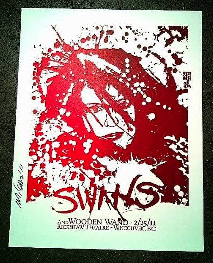 Swans Vancouver Poster (Sold Out)