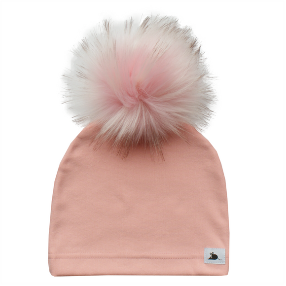 BLUSH FLEECE BLUSH POM