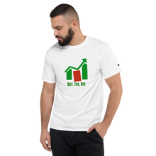 "Load image into Gallery viewer, J&M Option Trading ""Buy The Dip"" White Color Unisex T-Shirt"