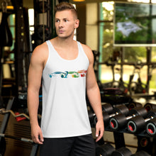 Load image into Gallery viewer, Unisex Rainbow TSLA Tank Top