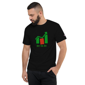 "J&M Option Trading ""Buy The Dip"" Black Color Unisex T-Shirt"