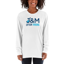 "Load image into Gallery viewer, J&M Option Trading ""J&M Logo"" Long Sleeve Shirt"