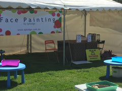face painting in Adelaide at corporate events and functions.   face painter with full insurance and police clearance.