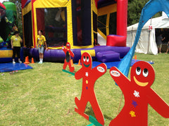 giant games hire for children's entertainment in Adelaide at Events and parties with jumpy castle hire and face painting