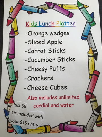 kids play cafe with art and craft classes and healthy food options