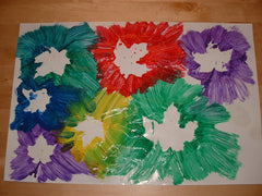 painting and making with craft and art for toddlers at workshops and classes in Adelaide with Splodge