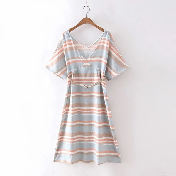 Pastel Stripe Dress