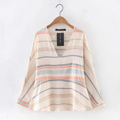 Pastel Stripe Blouse