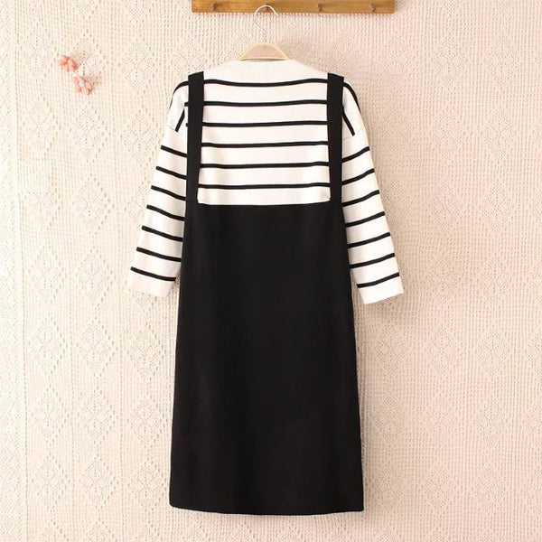 LM+ Stripe Tunic (3 Color)
