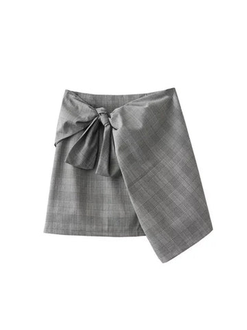 Skirt with Ribbon Detail