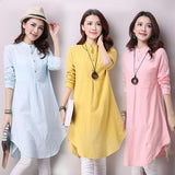 Mao Collar Blouse (2 Colors)