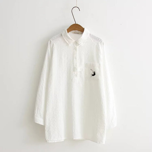 LM+ Embroidery Detail Shirt
