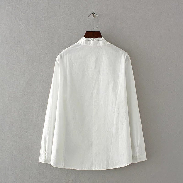 LM+ White Blouse