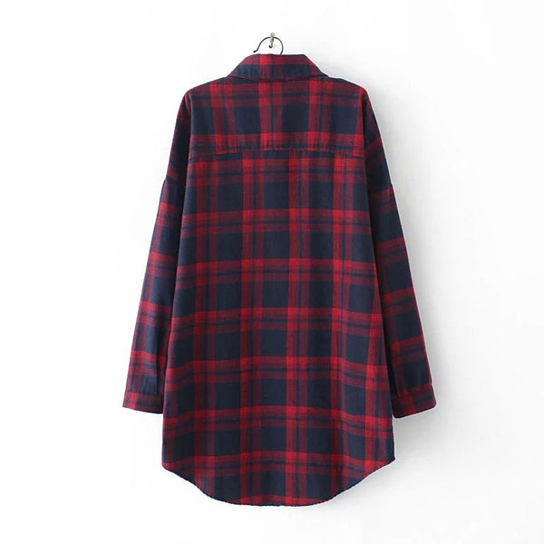 LM+ Checkered Shirt (4 Color)