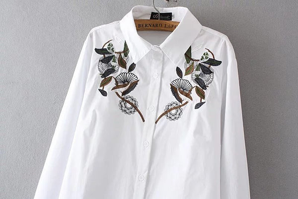 LM+ Embroidery Shirt (2 Color)
