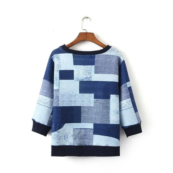 Patchwork Pullover