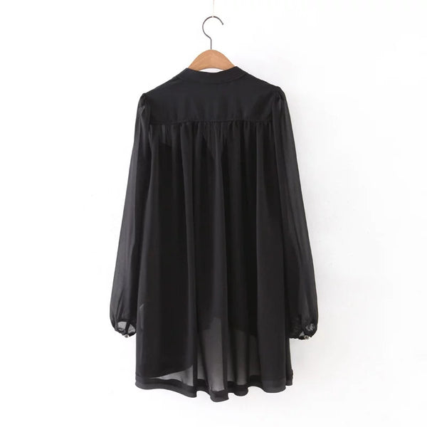 Oversize Flare Blouse (2 Color)
