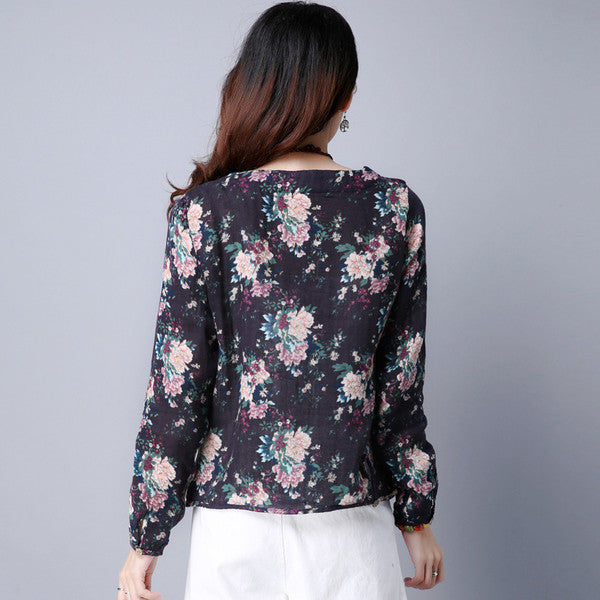 Floral Tops (2 Colors)