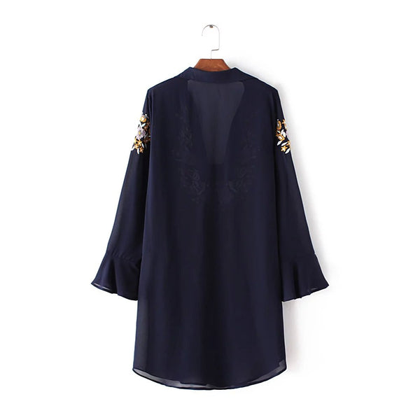 Embroidery Tunic (2 Color)