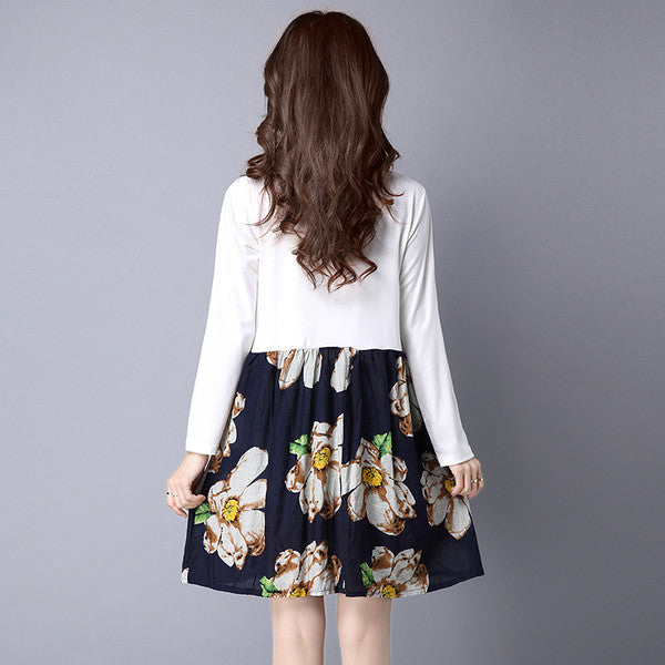 Floral Printed Dress (2 Colors)