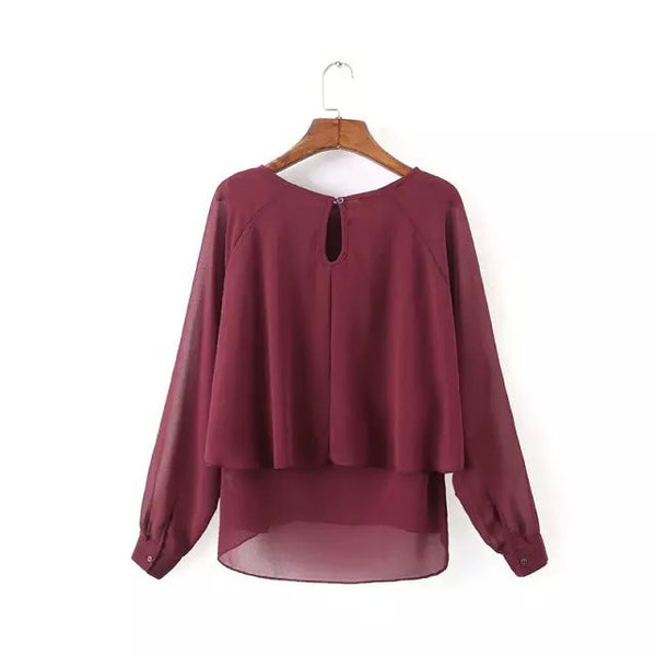 Tiered Blouse (2 Color)