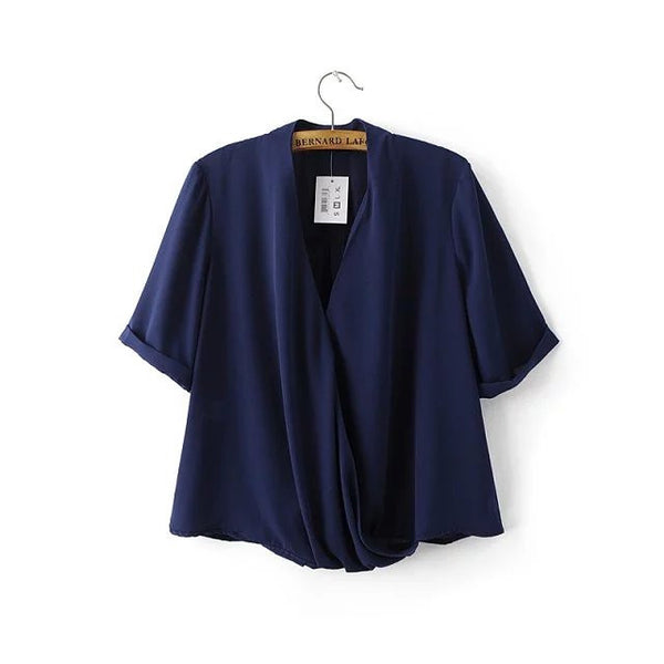 Overlay Blouse (3 Color)