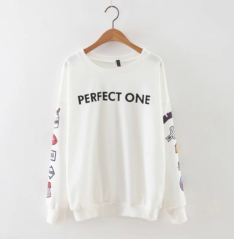 Statement Pullover with Graphics