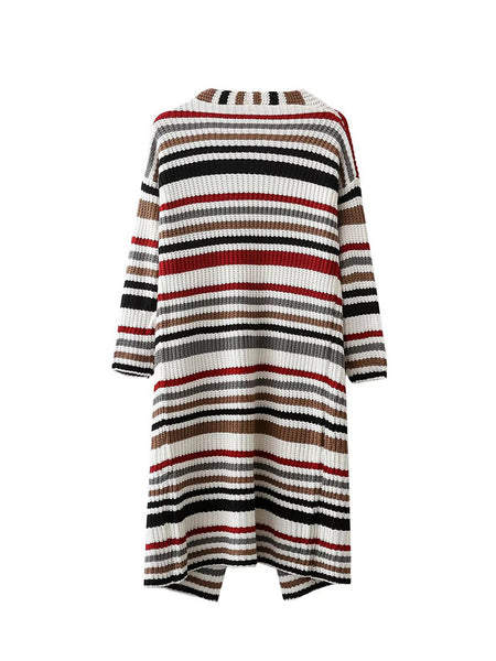 Stripe Knit Cardigan (2 Color)