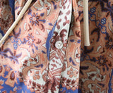 Paisley Flare Blouse