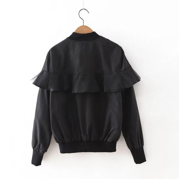 Jacket with Frills (3 Color)